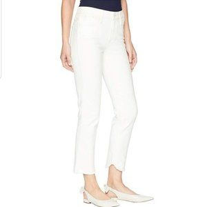 NWT Paige Hoxton Straight Ankle High Rise Jeans 28